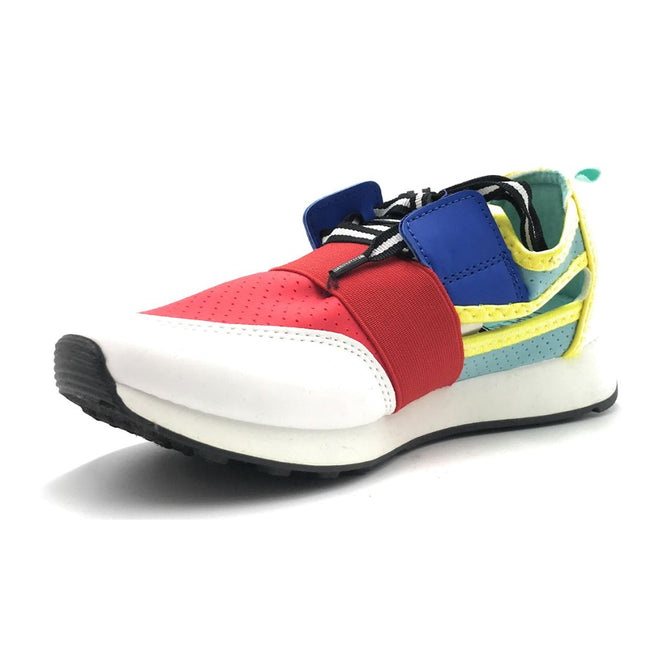 Cape Robbin Lakers Red Color Fashion Sneaker Shoes for Women