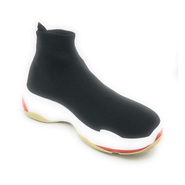 Cape Robbin Tidal Black Color Fashion Sneaker Shoes for Women