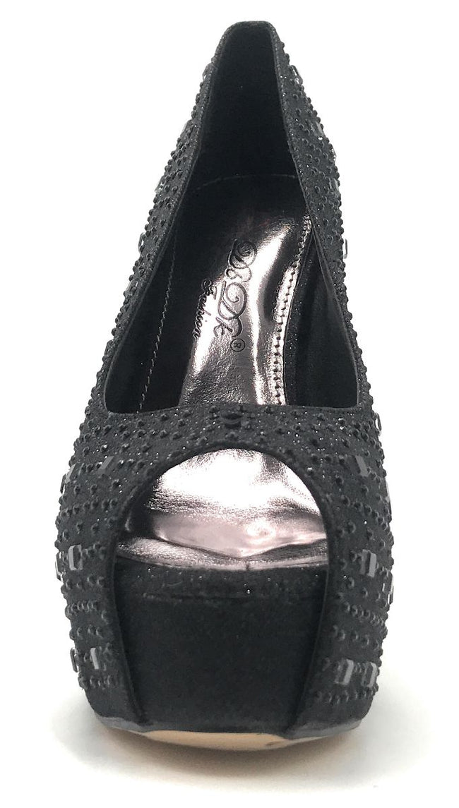 DBDK Brodie-1 Black Color Heels Shoes for Women