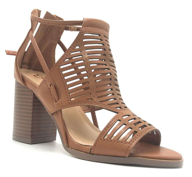 DBDK Calissa-3 Camel Color Heels Shoes for Women