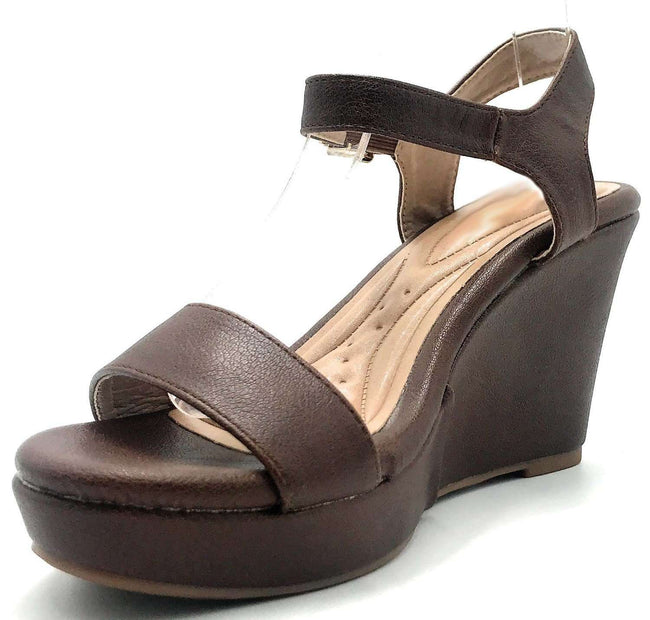DBDK Savina-5 Brown Color Wedge Shoes for Women