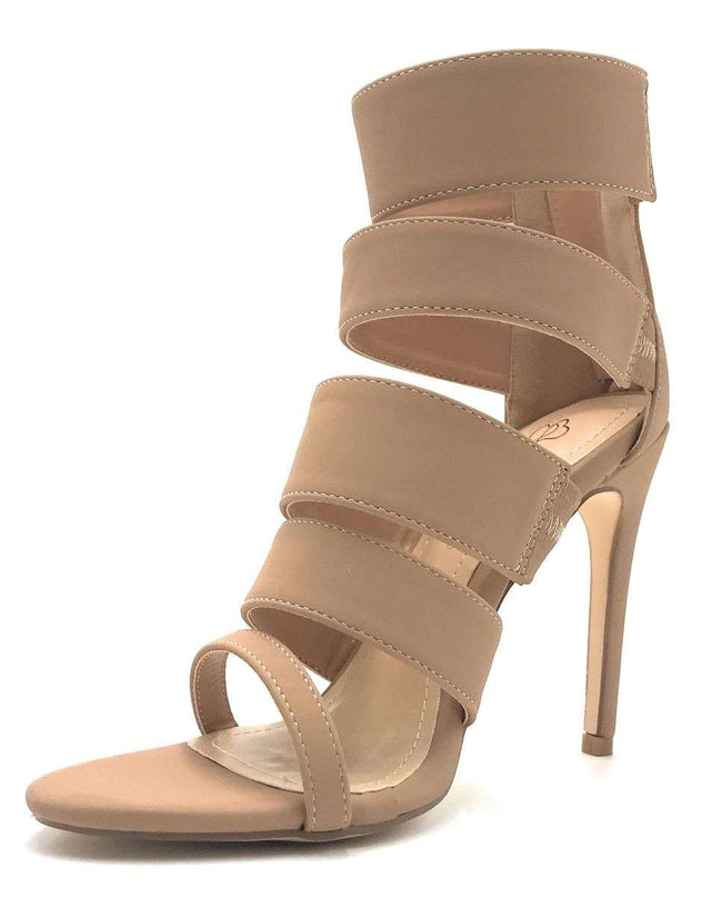 DBDK Tobi-88 Taupe Color Heels Shoes for Women