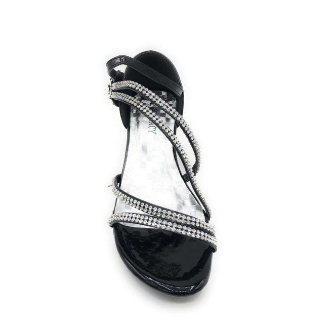Delicacy Angel-48 Black Color Heels Shoes for Women