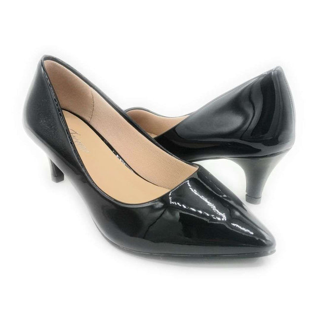 Forever Aubree-16 Black Color Heels Shoes for Women