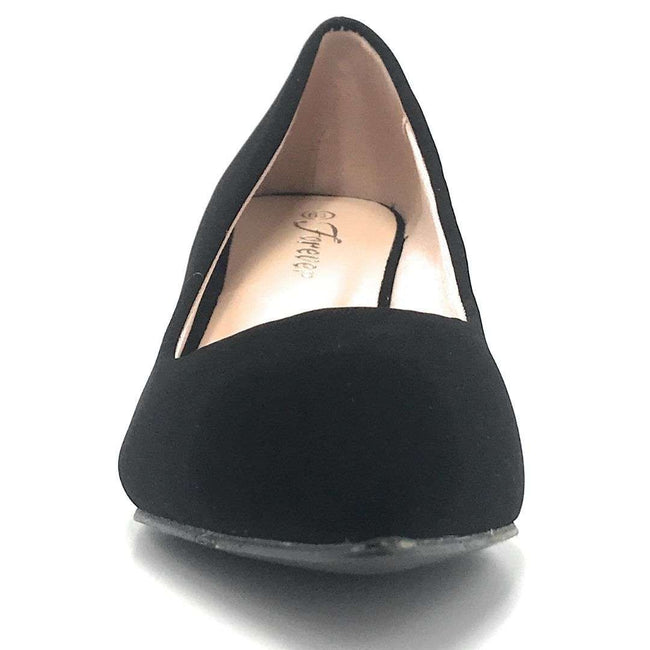 Forever Aubree-16 Charcoal Color Heels Shoes for Women