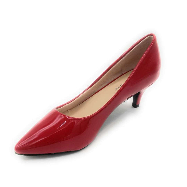 Forever Aubree-16 Red Color Heels Shoes for Women