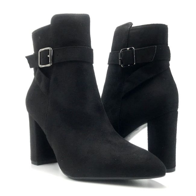 Forever Brazil-23 Black Color Boots Both Shoes together, Women Shoes