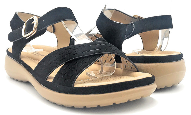 Forever Cali-31 Black Color Sandal Shoes for Women