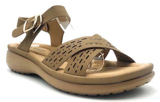 Forever Cali-31 Taupe Color Sandal Shoes for Women