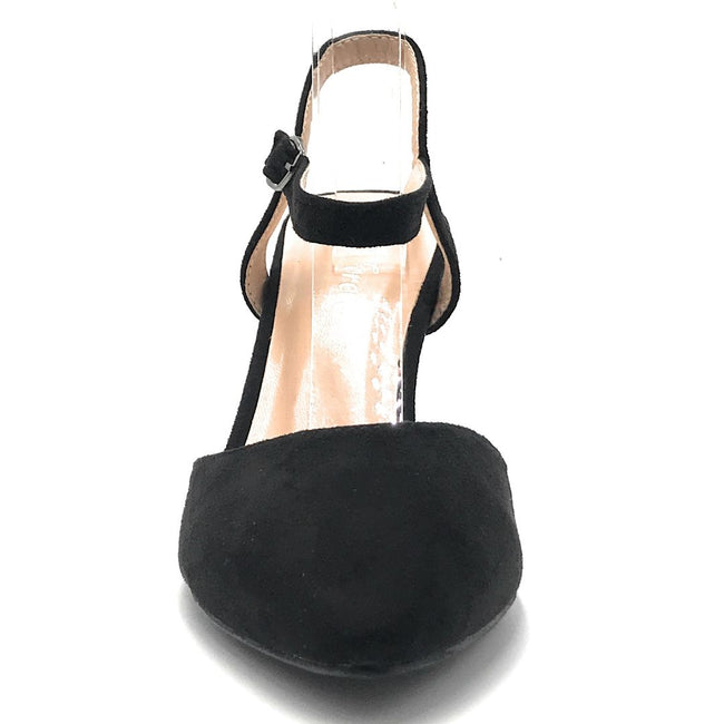 Forever Canty-01 Black Color Heels Shoes for Women