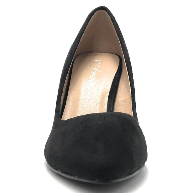 Forever Canty-05 Black Color Heels Shoes for Women