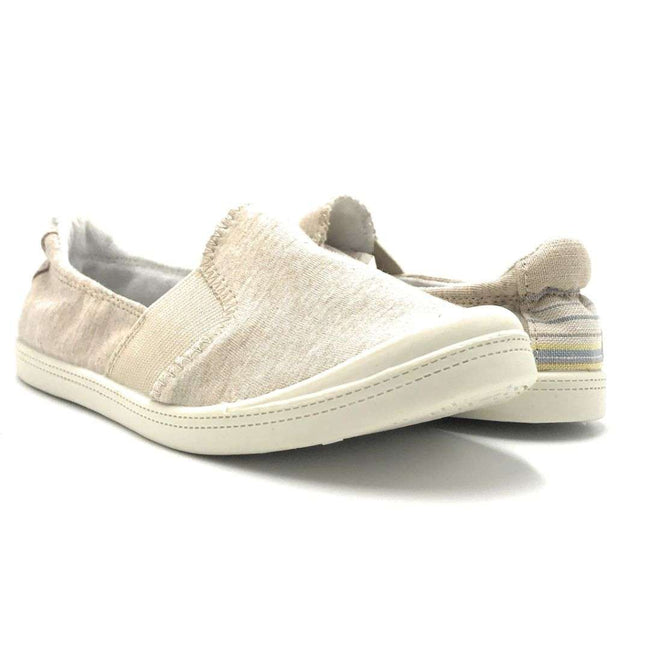 Forever Comfort-04 Beige Color Fashion Sneaker Shoes for Women