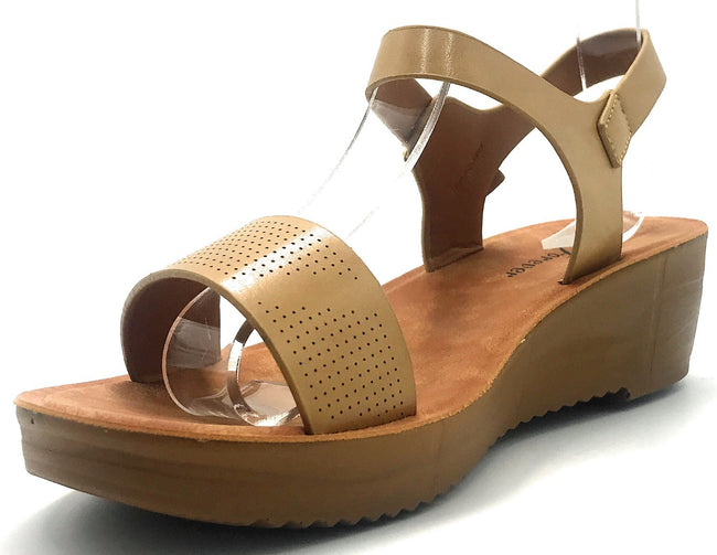 Forever Cozy-14 Taupe Color Sandal Shoes for Women