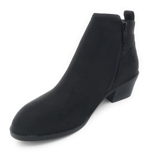 Forever Eury-9 Black Color Boots Shoes for Women