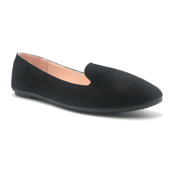 Forever Flexible-22 Black Color Ballerina Shoes for Women