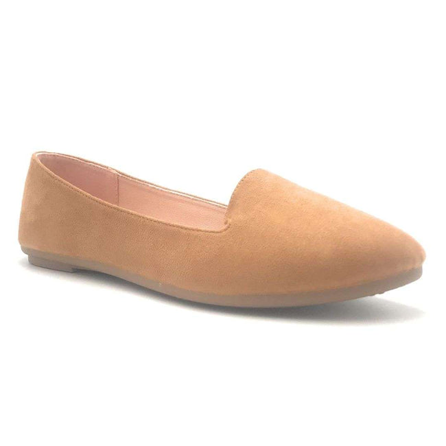 Forever Flexible-22 Tan Color Ballerina Shoes for Women