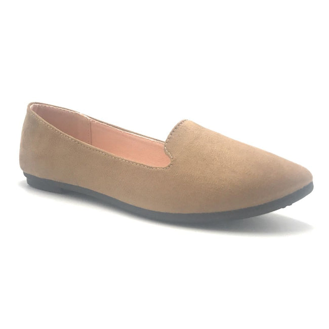 Forever Flexible-22 Taupe Color Ballerina Shoes for Women