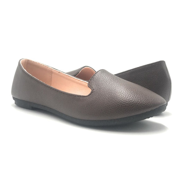 Forever Flexible-32 Brown Color Ballerina Shoes for Women
