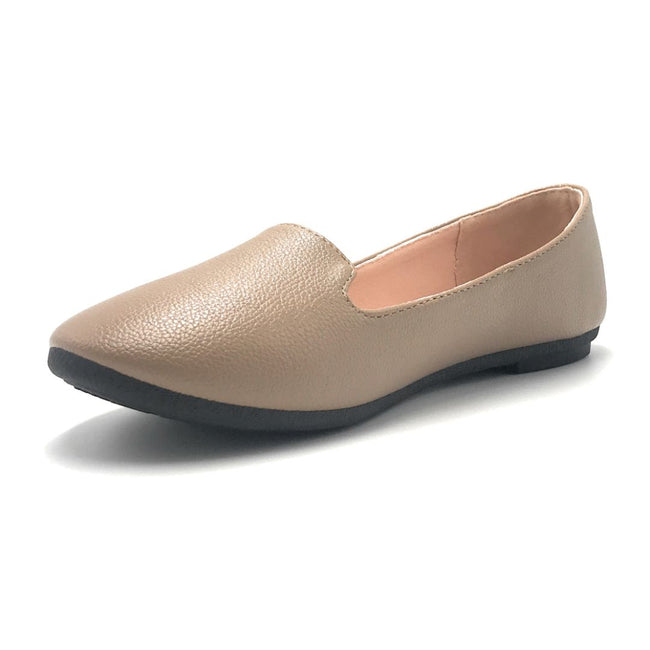 Forever Flexible-32 Taupe Color Ballerina Shoes for Women