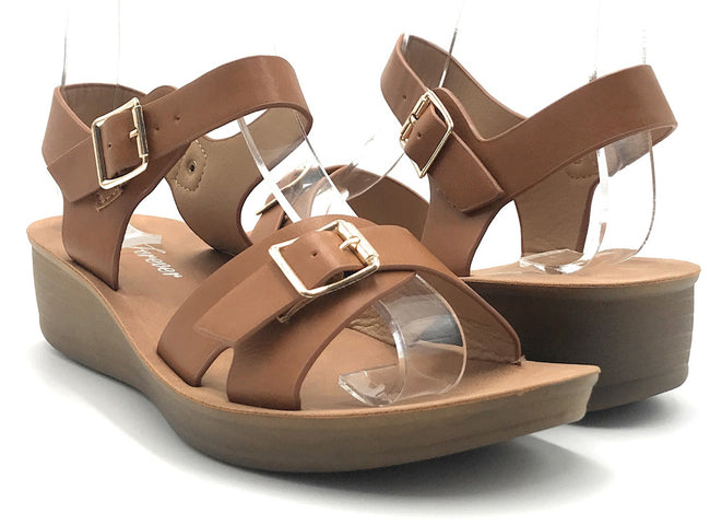 Forever Jenny-46 Tan Color  Shoes for Women