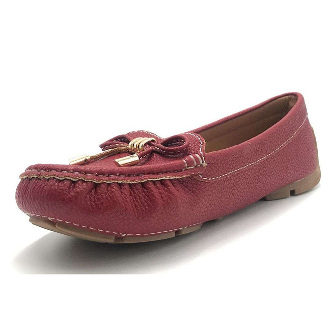 Forever Jimmi-05 Red Color Ballerina Shoes for Women