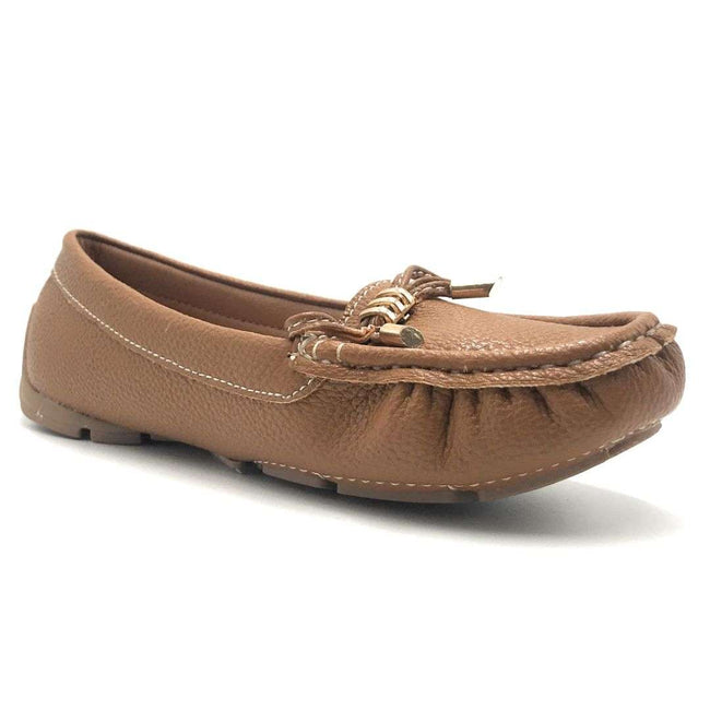 Forever Jimmi-05 Tan Color Ballerina Shoes for Women