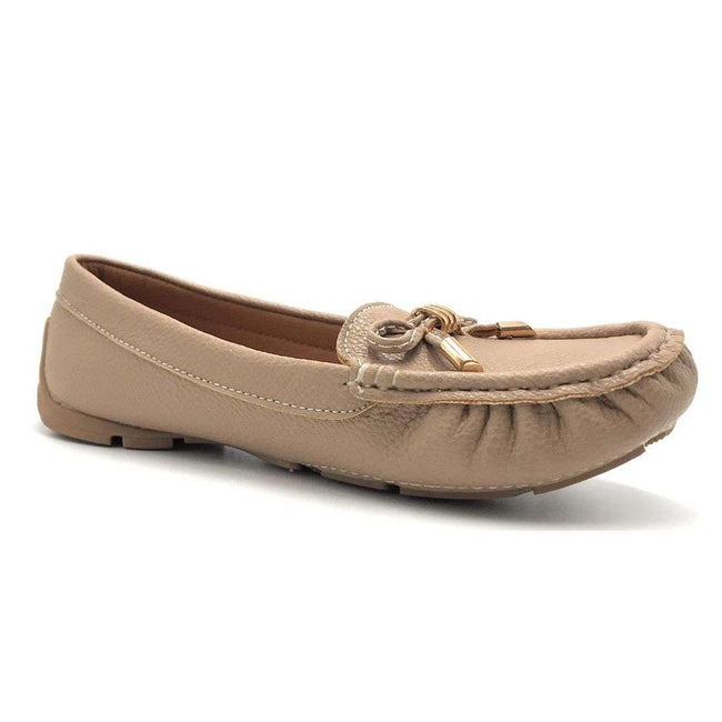 Forever Jimmi-05 Taupe Color Ballerina Shoes for Women