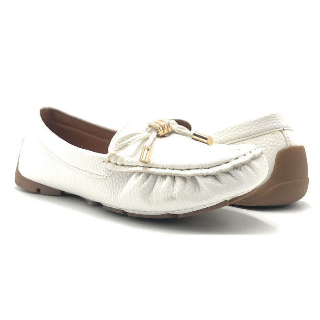 Forever Jimmi-05 White Color Ballerina Shoes for Women