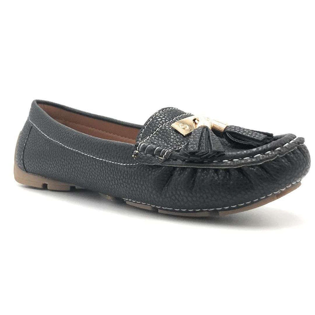 Forever Jimmi-32 Black Color Ballerina Shoes for Women