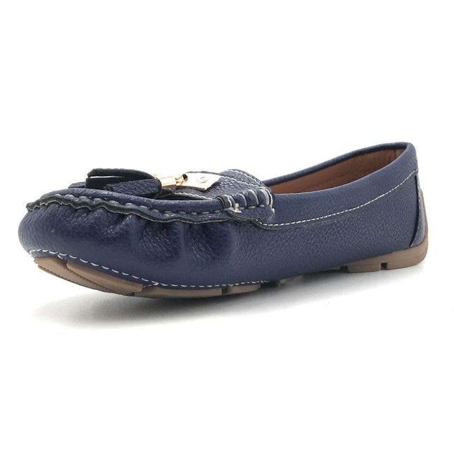 Forever Jimmi-32 Blue Color Ballerina Shoes for Women