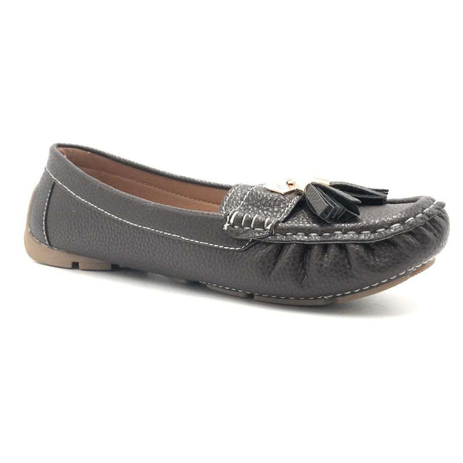 Forever Jimmi-32 Brown Color Ballerina Shoes for Women