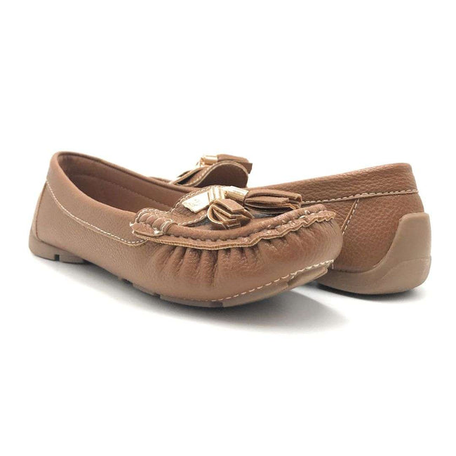 Forever Jimmi-32 Tan Color Ballerina Shoes for Women