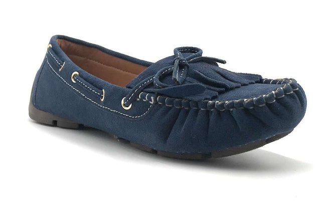 Forever Link Jimmy-04 Navy Color Ballerina Shoes for Women