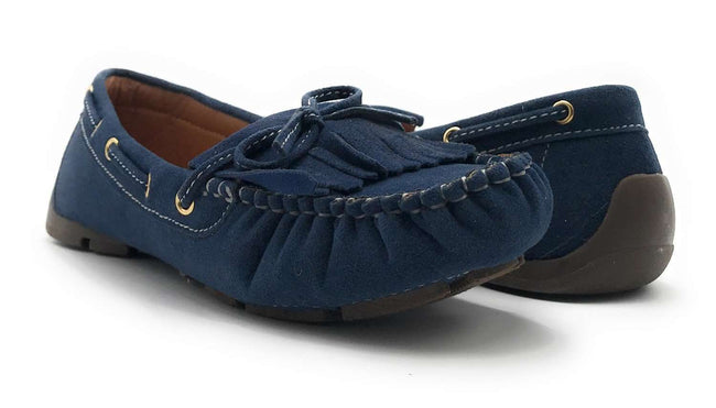 Forever Link Jimmy-04 Navy Color  Shoes for Women