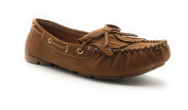 Forever Link Jimmy-04 Tan Color Ballerina Shoes for Women