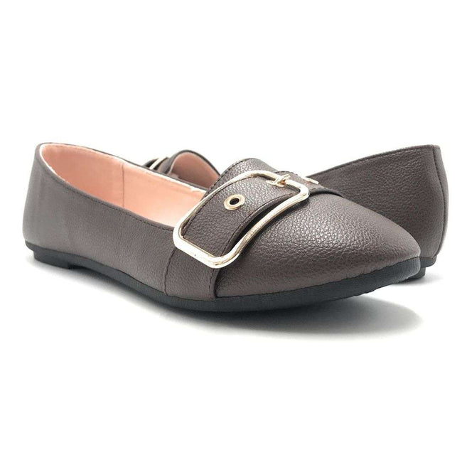 Forever Kinsella-40 Brown Color Ballerina Shoes for Women