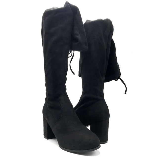 Forever Life-30 Black Color Boots Both Shoes together, Women Shoes