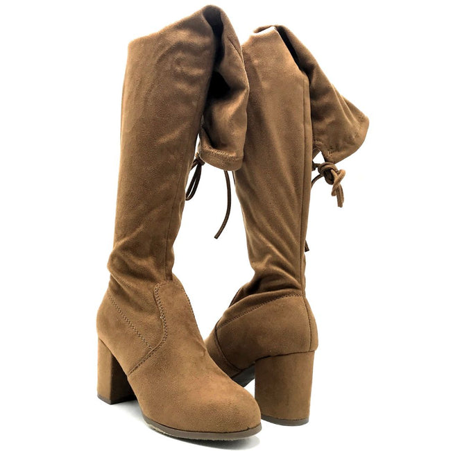 Forever Life-30 Tan Color Boots Both Shoes together, Women Shoes