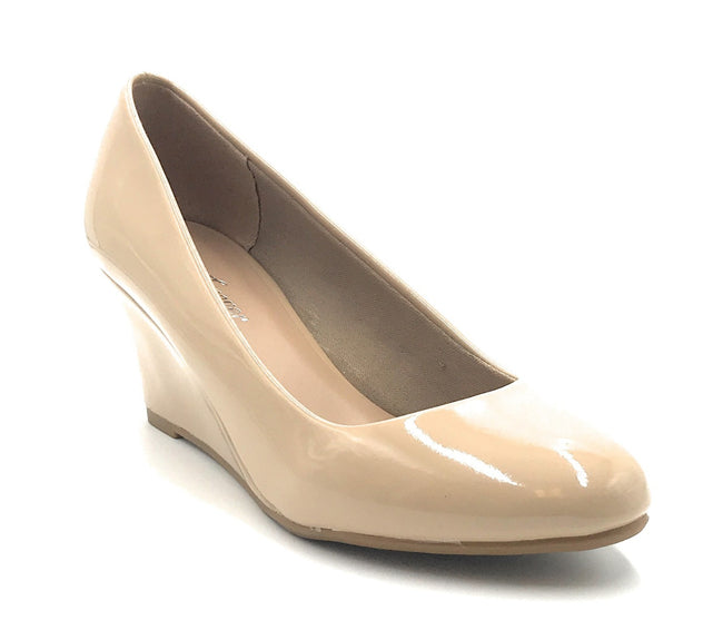 Forever Link Doris-22 Beige Color Wedge Shoes for Women