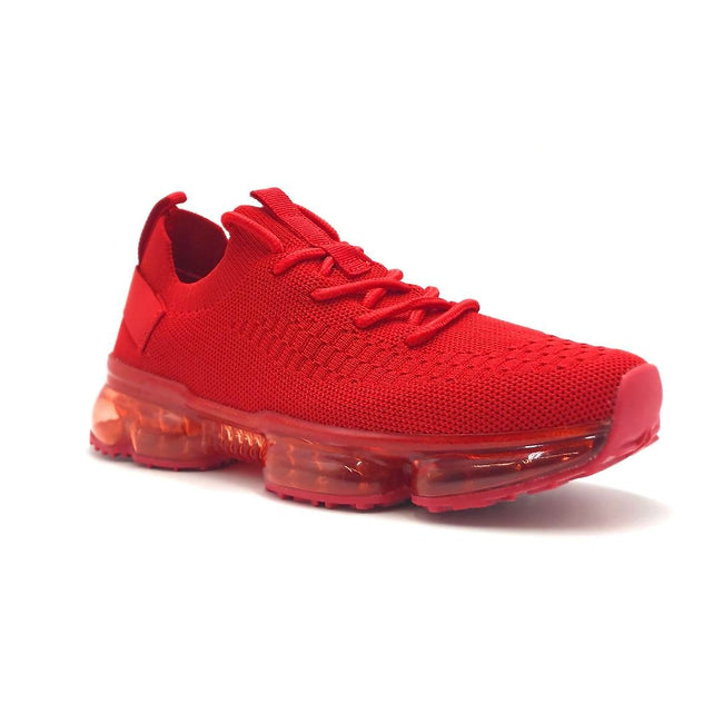 Forever Link Flow-19 Red Color Fashion Sneaker Right Side View, Women Shoes