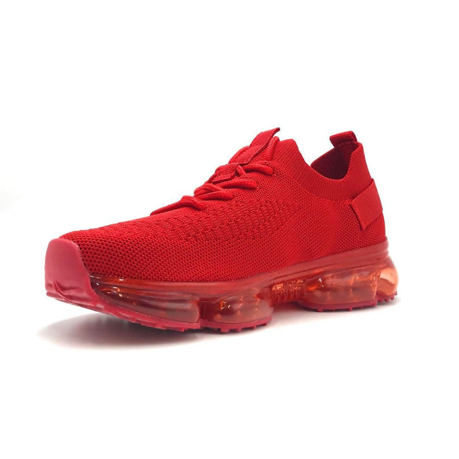 Forever Link Flow-19 Red Color Fashion Sneaker Left Side view, Women Shoes