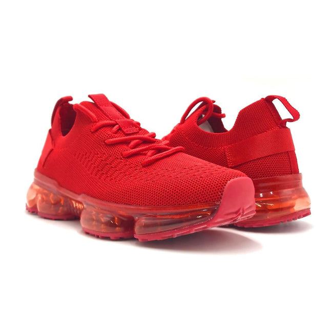 Forever Link Flow-19 Red Color Fashion Sneaker Both Shoes together, Women Shoes
