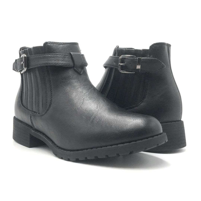 Forever Link Inspire-20 Black Color Boots Shoes for Women