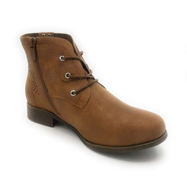 Forever Link Lite-07 Tan Color Boots Shoes for Women