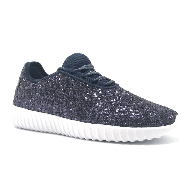 Forever Link Remy-18 Navy Color Fashion Sneaker Shoes for Women