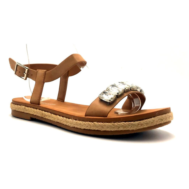 Forever Link Top Line-9 Taupe Color Flat-Sandals Shoes for Women
