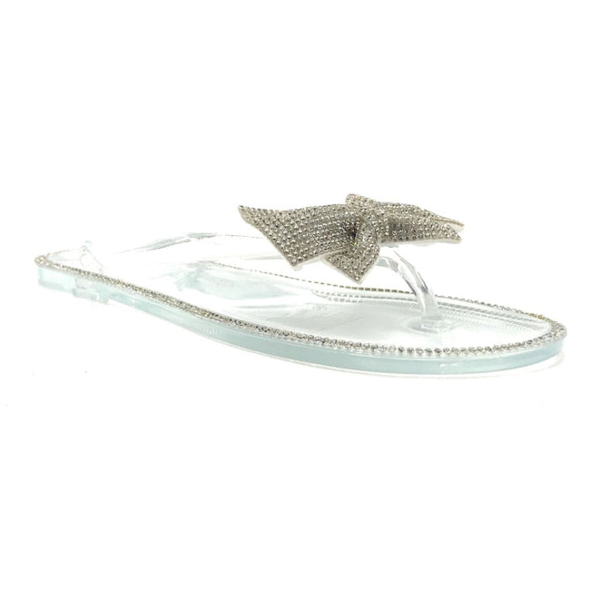 Forever Lucid-13 Clear Color Flat-Sandals Shoes for Women