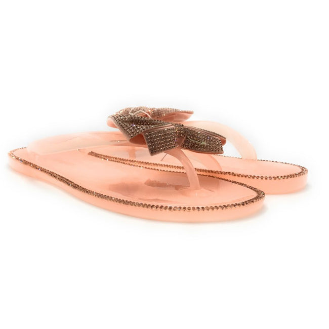 Forever Lucid-13 Nude Color Flat-Sandals Shoes for Women