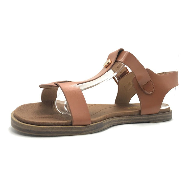 Forever Mild-62 Rose Gold Color Flat-Sandals Shoes for Women