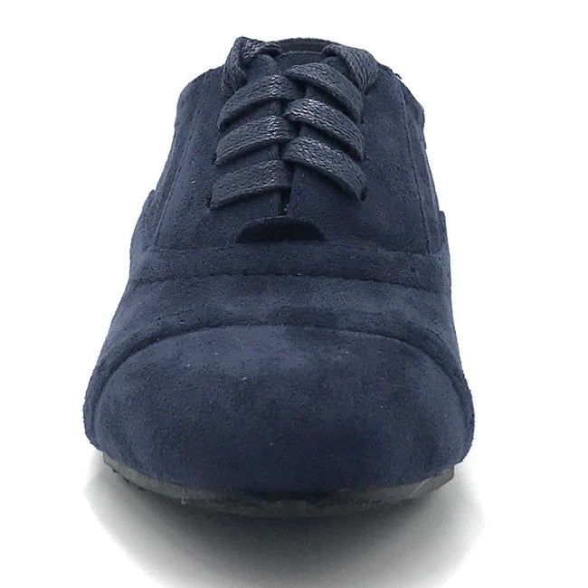 Forever Naoki-02 Navy Color Boots Shoes for Women